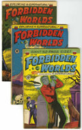 Golden Age (1938-1955):Horror, Forbidden Worlds Group (ACG, 1952-53).... (Total: 3 Comic Books)