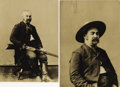 "Photography:Studio Portraits, TWO COPY PORTRAITS OF VIGILANTE AND LAWMAN JOHN X. BEIDLER. Beidler, who went by his middle initial ""X,"" was a charter membe... (Total: 1 Item)"