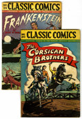 Golden Age (1938-1955):Classics Illustrated, Classic Comics #20 and 36 Group (Gilberton, 1944-45).... (Total: 2 Comic Books)