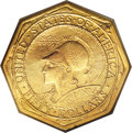 Commemorative Gold, 1915-S $50 Panama-Pacific 50 Dollar Octagonal--ImproperlyCleaned--NCS. AU Details....