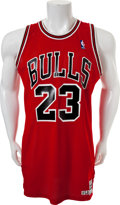 Basketball Collectibles:Uniforms, 1986-87 Michael Jordan Game Worn Chicago Bulls Jersey....