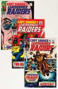 Silver Age (1956-1969):War, Captain Savage and His Leatherneck Raiders Group (Marvel, 1968-70)Condition: Average VF.... (Total: 14 Items)