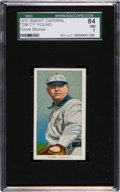 Baseball Cards:Singles (Pre-1930), 1909-11 T206 Sweet Caporal Cy Young, Glove Shows SGC 84 NM 7....