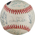 Autographs:Baseballs, 1998 New York Yankees Team Signed Baseball. ...