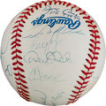 Autographs:Baseballs, 1999 New York Yankees Team Signed Baseball....