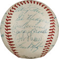 Autographs:Baseballs, 1960 All-Star Game Multi-Signed Baseball....