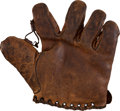 Baseball Collectibles:Others, 1925-30 Walter Johnson Retail Model Fielder's Glove....