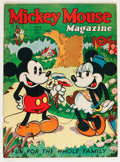 Platinum Age (1897-1937):Miscellaneous, Mickey Mouse Magazine #9 (K. K. Publications/ Western PublishingCo., 1936) Condition: Apparent FN....