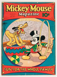 Mickey Mouse Magazine #11 (K. K. Publications/ Western Publishing Co., 1936) Condition: GD+