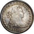 Early Dollars, 1797 $1 10x6 Stars, Large Letters MS64+ NGC. CAC. B-3, BB-71,R.3....