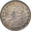 Bust Half Dollars, 1827 50C Square Base 2 MS62 NGC. CAC. O-134, R.4....