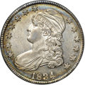 Bust Half Dollars, 1834 50C Large Date, Small Letters MS62 NGC. CAC. O-106, R.1....