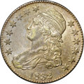 Bust Half Dollars, 1832 50C Small Letters AU58 NGC. CAC. O-122, R.1....