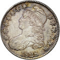 Bust Half Dollars, 1828 50C Square Base 2, Small 8, Large Letters AU58 NGC. CAC.O-116, R.2....