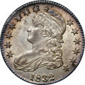 Bust Half Dollars, 1832 50C Small Letters MS63 NGC. CAC. O-103, R.1....