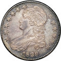 Bust Half Dollars, 1829 50C Small Letters AU58 NGC. O-107, R.3....