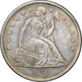 Seated Dollars, 1859-O $1 AU50 NGC....