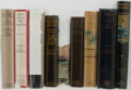 Books:Fiction, [Illustrated Fiction]. Lot of Nine Books of Illustrated Fiction.Various publishers, dates, editions. Large octavos and smal...(Total: 9 Items)