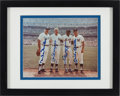 Baseball Collectibles:Photos, Duke Snider, Joe DiMaggio, Willie Mays and Mickey Mantle MultiSigned Photograph....