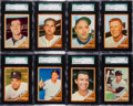 Baseball Cards:Lots, 1962 Topps Baseball SGC 96 MINT 9 Collection (15). ...