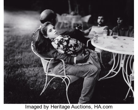 SALLY MANN (American, b. 1951) Untitled (from the series 'At Twelve'), 1983-87 Gelatin silver, before 1989 10-1/8 x 1...