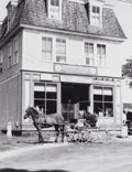 Photographs:20th Century, WALKER EVANS (American, 1903-1975). Grocery Store, NewHampshire, circa 1938. Gelatin silver, printed later. 8 x 6-1/4i...