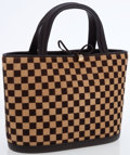 Luxury Accessories:Bags, Louis Vuitton Limited Edition Damier Sauvage Impala Mini Tote Bag....