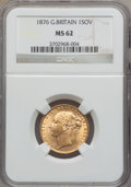 Great Britain, Great Britain: Victoria gold Sovereign 1876,...