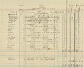 Miscellaneous Collectibles:General, 1935 Ellsworth Vines Personal Ledger of Tour Match Results....