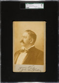 """Boxing Cards:General, 1890's John L. Sullivan Cabinet Photo """"Yours Truly""""SGC 20 Fair1.5...."""