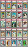 Baseball Cards:Sets, 1972 Topps Baseball Complete Master Set (794) - #14 on the PSA SetRegistry. ...