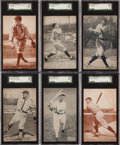 Baseball Cards:Lots, 1920's Baseball Exhibit Collection (25) With Cobb (3) and Other HoFers! ...