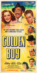 "Movie Posters:Drama, Golden Boy (Columbia, 1939). Three Sheet (41"" X 80"").. ..."