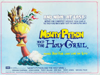 "Monty Python and the Holy Grail (EMI, 1975). British Quad (30"" X 40"")"