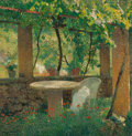 Paintings, HENRI JEAN GUILLAUME MARTIN (French, 1860-1943). Charmille. Oil on canvas. 32-1/2 x 31-1/2 inches (82.6 x 80.0 cm). Sign... (Total: 2 Items)