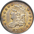 Bust Half Dimes, 1832 H10C MS64+ NGC. CAC. V-5, LM-8.4, R.3....