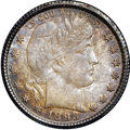 Barber Quarters, 1893-O 25C MS65 NGC....