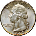 Washington Quarters, 1940-D 25C MS67+ NGC. CAC....