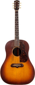 Musical Instruments:Acoustic Guitars, Circa 1937 Gibson J-55 Sunburst Acoustic Guitar, Factory Order Number 812 F. ...