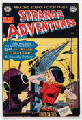 Golden Age (1938-1955):Science Fiction, Strange Adventures #7 (DC, 1951) Condition: VG/FN....