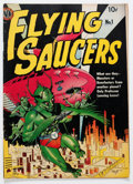 Golden Age (1938-1955):Science Fiction, Flying Saucers #1 (Avon, 1950) Condition: VG....