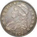 "Bust Half Dollars, 1828 50C Small 8, Square Base 2, Large Letters AU55 NGC. O-116,R.2. Ex: ""Col."" E.H.R. Green. Rich aquamarine and golden-br..."
