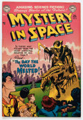 Golden Age (1938-1955):Science Fiction, Mystery in Space #6 (DC, 1952) Condition: FN+....