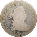 "Early Quarters, 1806 25C Good 4 NGC. CAC. B-3, R.1. Ex: ""Col."" E.H.R. Green. Thedate and the left side legends are bold. The right-side bo..."