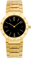 Timepieces:Wristwatch, Bulgari BB 33 GGD Gold Wristwatch. ...