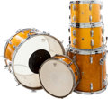 Musical Instruments:Drums & Percussion, 1966 Ludwig Gold Sparkle Drum Kit....