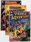 Silver Age (1956-1969):Science Fiction, Strange Adventures Plus Group (DC, 1950s-60s) Condition: AverageFN-.... (Total: 17 Comic Books)