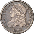 Bust Dimes, 1833 10C VF30 NGC. JR-1, R.3. The 18 is wide and the first 3 ishigh. The fields are deep lavender though the high points a...