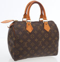Luxury Accessories:Bags, Louis Vuitton Classic Monogram Canvas Speedy 25 Bag. ...