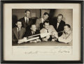 Autographs:Celebrities, Mercury Seven Astronauts: Photo Signed by All....